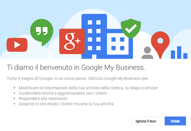 Google My Business - Istruzioni all'uso
